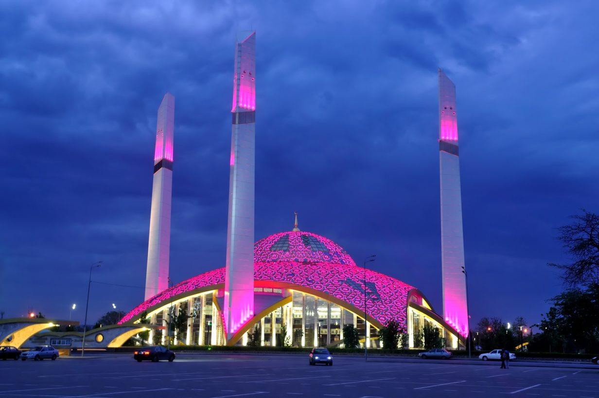Moschee Herz der Mutter in Argun